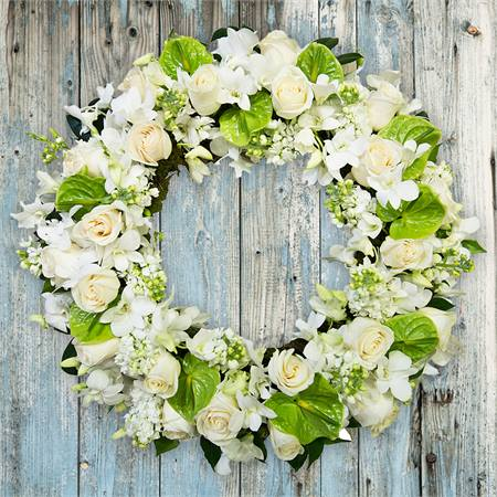 White Wreath Premium