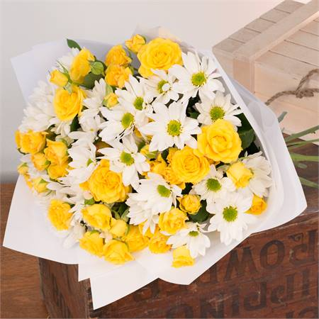Yellow Sunshine Bouquet