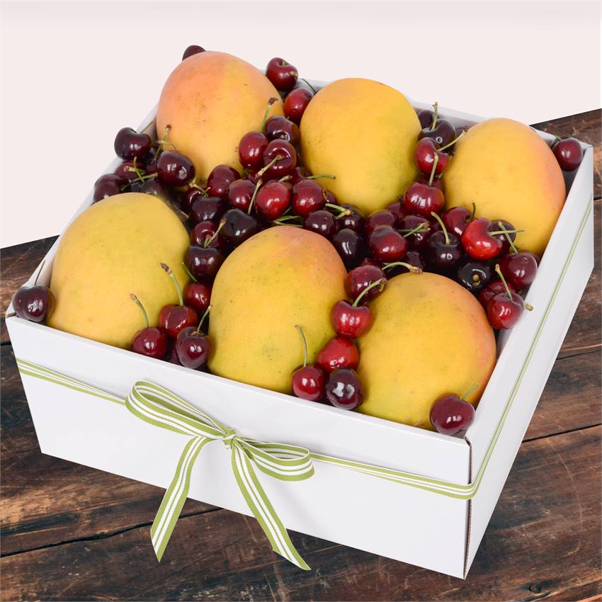 Mango and Cherry Box