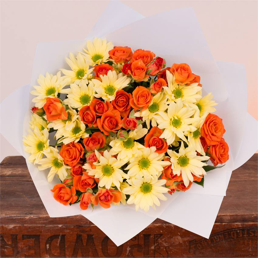 Orange Sunrise Bouquet