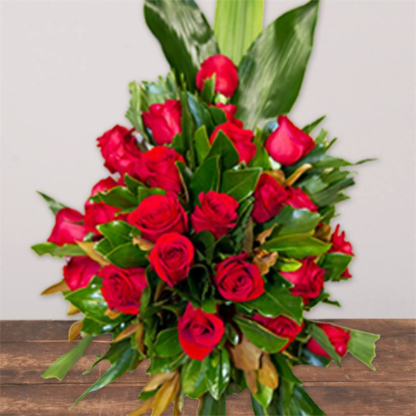 Red Flower Sheaf Premium