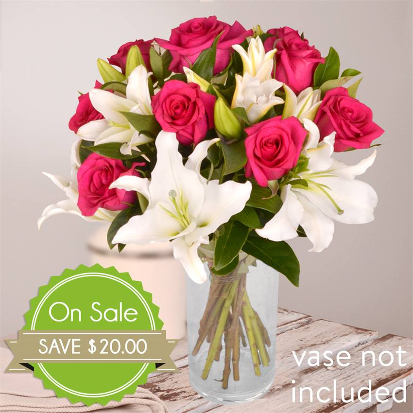 Rose and Lily Bouquet Special