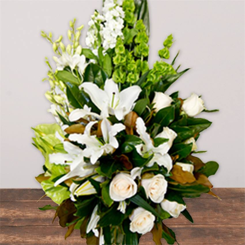 White Flower Sheaf Premium